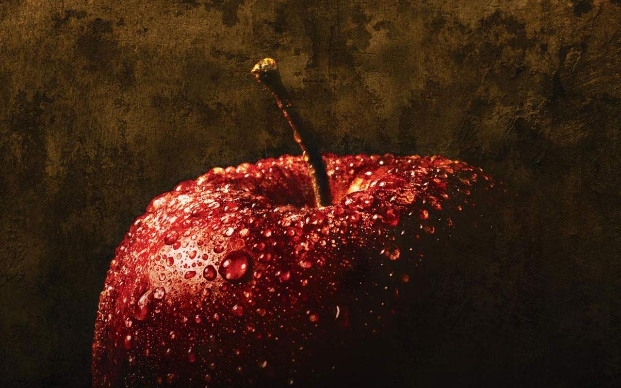 Ilustračný obrázok, jablko