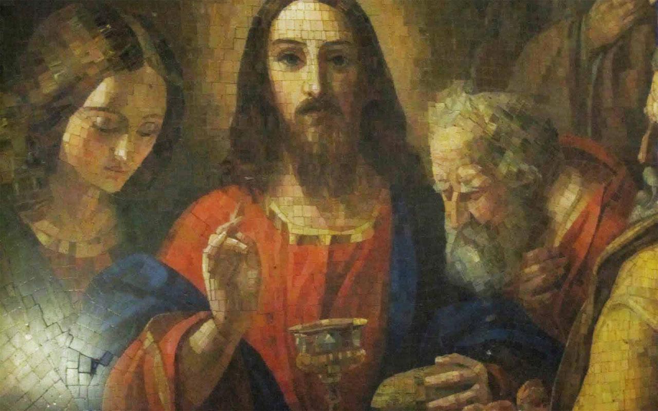 Zhivago mozajka Ježiš